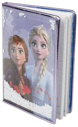 Anna and Elsa - Notebook with Snowflakes