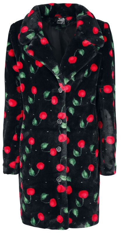 Cherry Bomb Coat