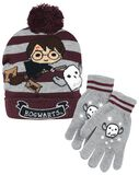 Harry and Hedwig - Beanie and Gloves