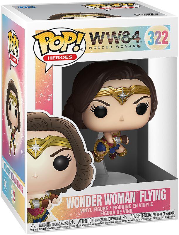 1984 - Wonder Woman Flying Vinyl Figure 322