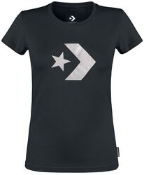 Star Chevron Metallic Crew Tee