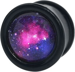 Pink Galaxy Plug