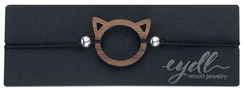 eydl Wood Jewellery Kitty