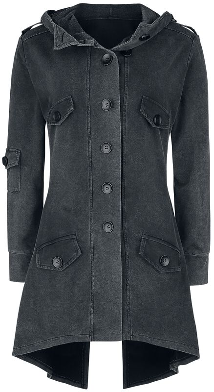 Front Button Sweat Coat | Forplay Cappotti | EMP