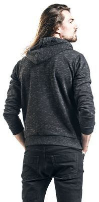 Mottled Hooded Jacket