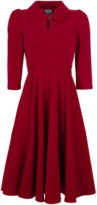 Glamourous Velvet Tea Dreams Dress