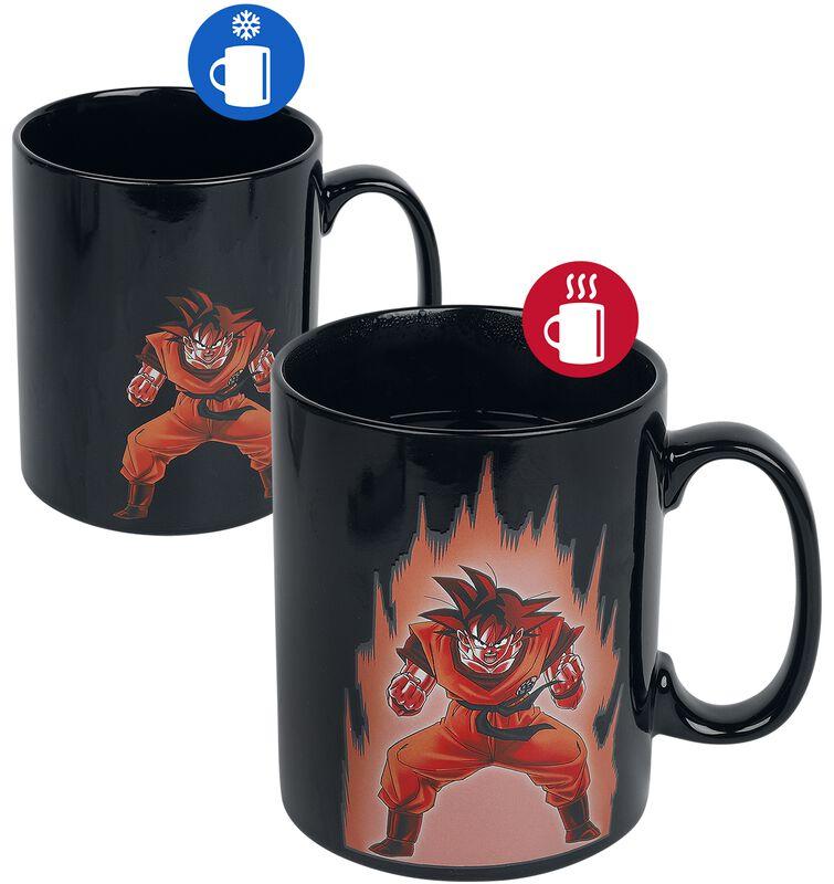 Shenlong and Goku - Heat-change mug