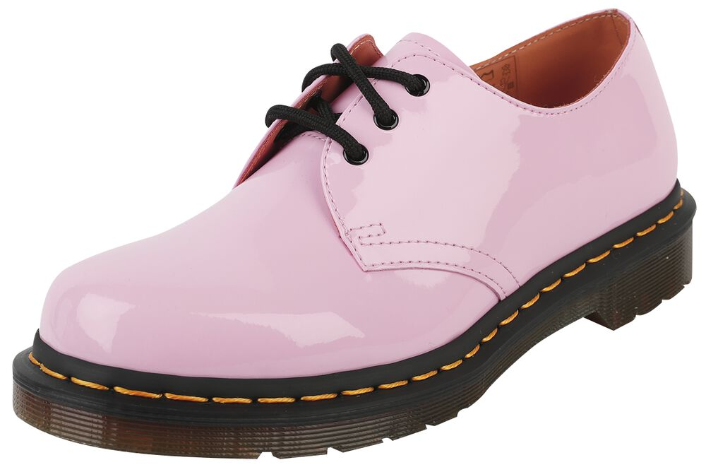 1461 Pale Pink Patent Lamper 3 Eye Shoe