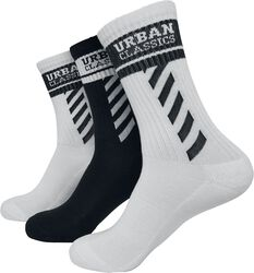 Sporty Logo Socks 3-Pack