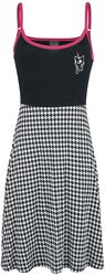 Houndstooth College Dress