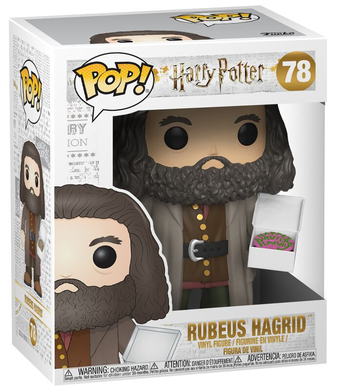 Rubeus Hagrid (Super Pop!) Vinyl Figure 78