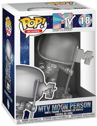 Icons - MTV Moon Person Vinyl Figure 18