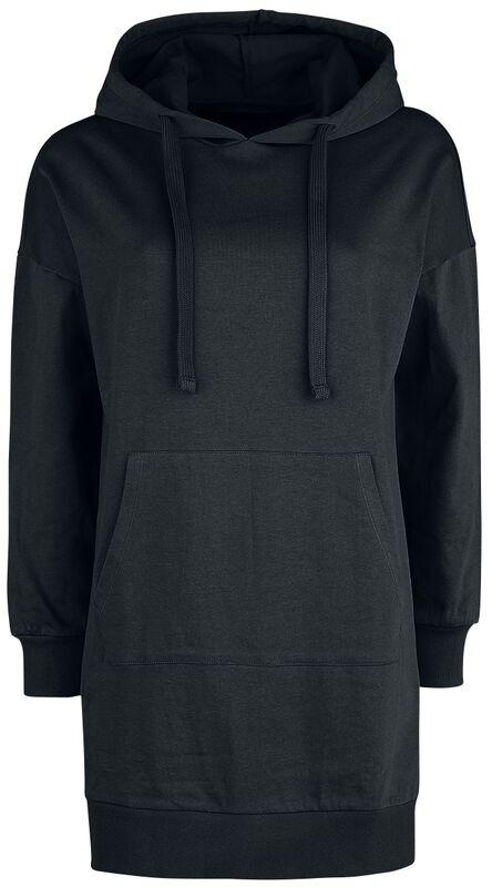 Long Black Hooded Sweater