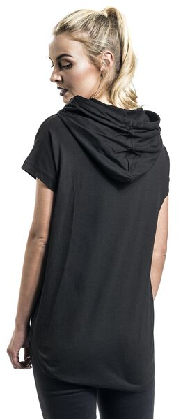 Ladies Sleeveless T Jersey Shirt Hoody FdFYrwqA