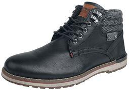 Low Black Boot