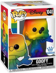 Goofy (Rainbow) (Funko Shop Europe) Vinyl Figur 1040