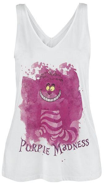 Cheshire Cat - Purple Madness Top