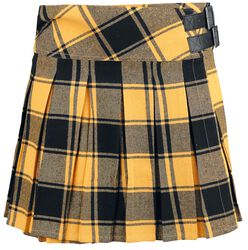 Yellow Kilt with Side Buckles