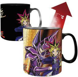 Yugi vs. Kaiba - Heat-Change Mug