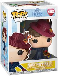 Mary Poppins with Kite Vinyl Figure 468