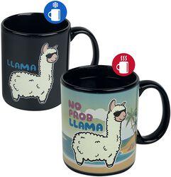 No Probllama - Heat-Change Mug