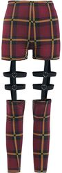 Passionate By Nature Plaid Harness Leggings