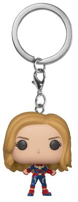Captain Marvel Pocket POP! Keychain