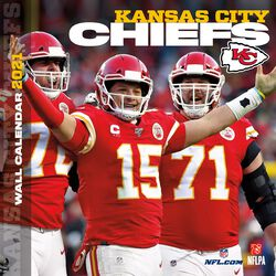 Kansas City Chiefs - 2021 Calendar