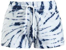 Blue/White Batik Shorts