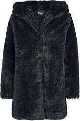 Ladies Hooded Teddy Coat