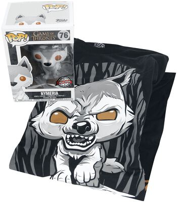 Nymeria T-Shirt plus Funko - Fan Package