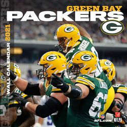 Green Bay Packers - 2021 Calendar
