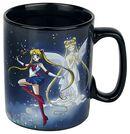 Sailor & Chibi - Heat-Change Mug