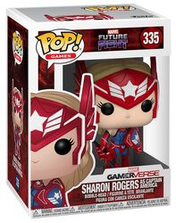 Future Fight - Sharon Rogers (As Captain America) Vinyl Figure 335