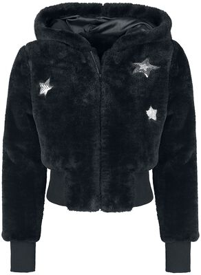 Star Struck Faux Fur Jacket