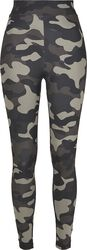 Ladies High Waist Camo Tech Leggings