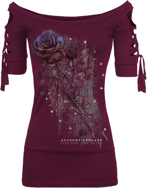 Kork Bleeding Rose T-Shirt