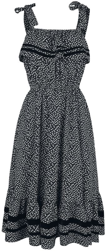 Mae Long Floral Flare Dress