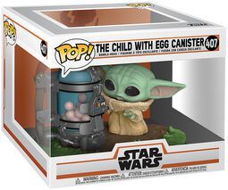 The Mandalorian - The Child (Baby Yoda) with Egg Canister (Pop! Deluxe) Vinyl Figur 407