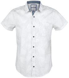 White Leave Men's Shirt