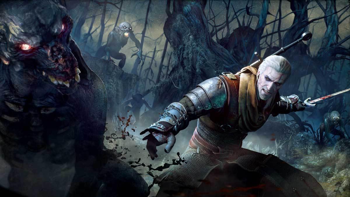 Geralt of Rivia kommt mit einem ganzen Arsenal an Skills.